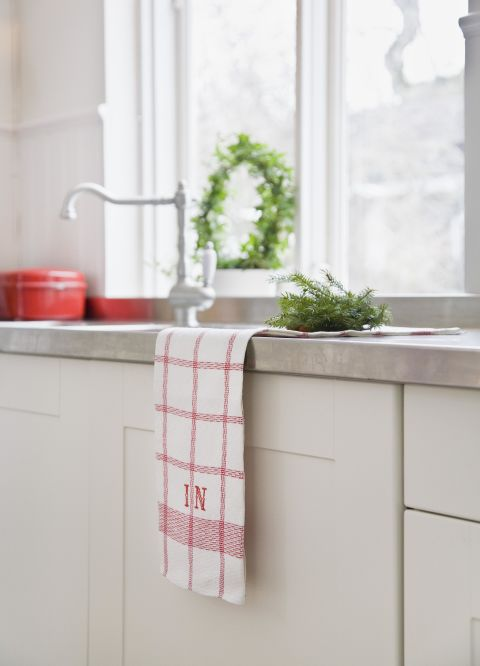 "They might not look dirty, but dish towels were deemed the most contaminated spot in the kitchen in a USDA-funded study. And the same goes for the small towels in your bathroom, according to Carolyn Forte, director of the Cleaning Lab at the Good Housekeeping Institute: ""Hand towels get dirtier faster since you use them more than once per day. They should be changed every couple days, or even every day, if you have a large family."""