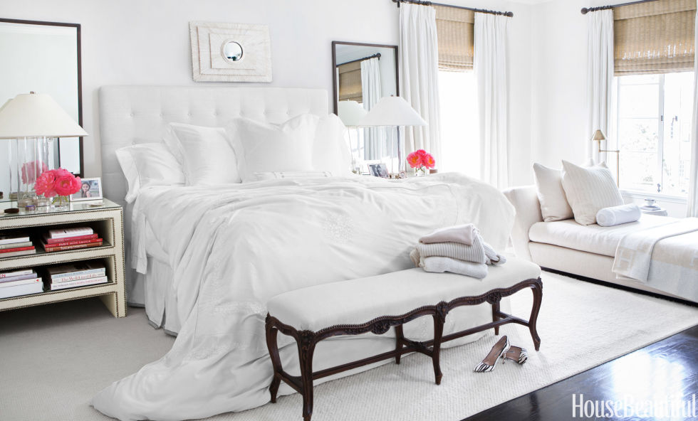 If you're prone to working overtime, paint your bedroom any color but white. People with a cream or white color scheme will take work to bed with them typically three times per week.